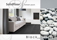 Solid Floor - Black and White