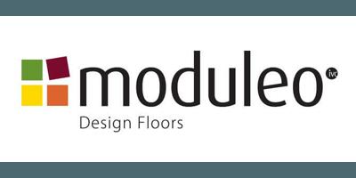 Moduleo PVC vloer logo - showroom Limburg