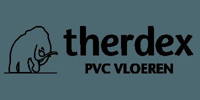 Therdex PVC vloer logo - showroom Limburg