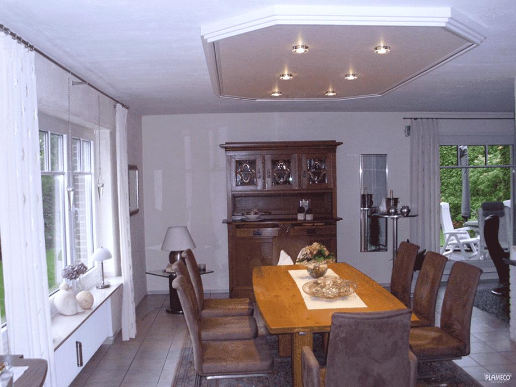 Woonkamer plafonds een nieuw plafond in de woonkamer for Huiskamer design
