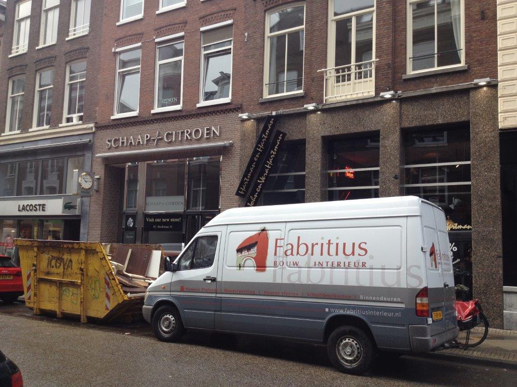 Fabritius Interieur project - Rolex Boutique PC.40 Amsterdam