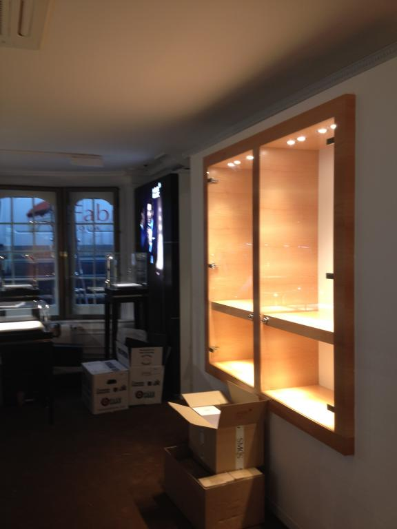 Fabritius Interieur project - WatchCity Amsterdam
